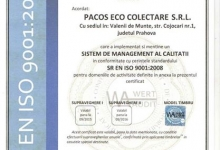 Colectare Deseuri PACOS ECO COLECTARE